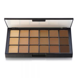 Olive Brown Foundation Palette