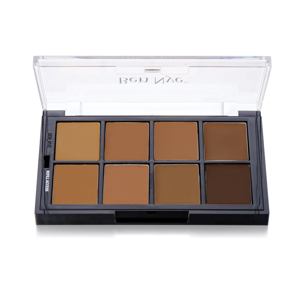 Brown MatteHD Foundation Palette (STP-09)