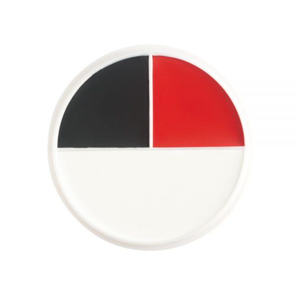 Red, White & Black Wheel